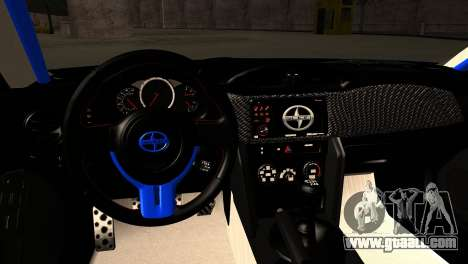 Scion FR-S for GTA San Andreas inner view