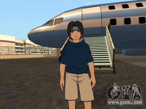 Sasuke Uchiha for GTA San Andreas second screenshot