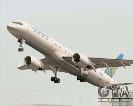 Boeing 757-200 Continental Airlines for GTA San Andreas wheels