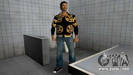 Pentagram Shirt for GTA Vice City third screenshot