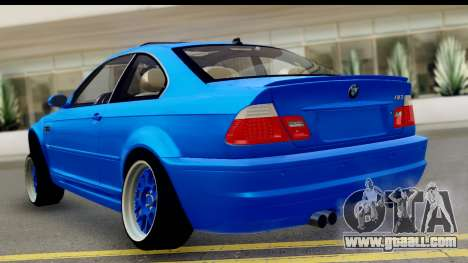 BMW M3 Stance for GTA San Andreas left view