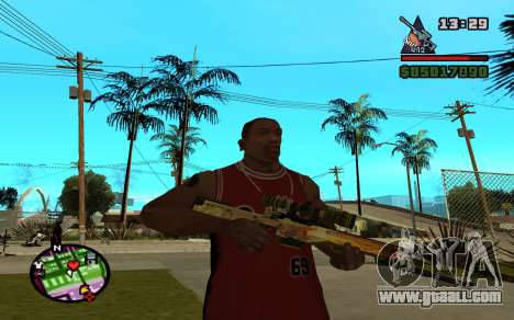AWP Dragon Lore CS:GO for GTA San Andreas