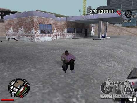 C-Hud OLD for GTA San Andreas