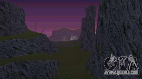 Greening the desert for GTA San Andreas third screenshot
