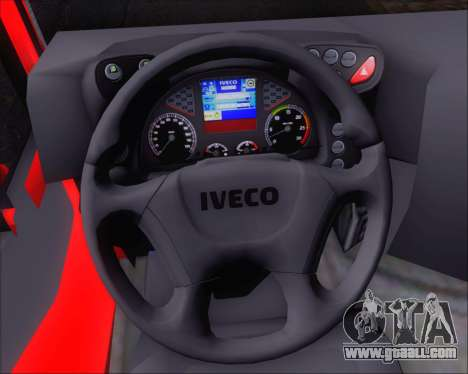 Iveco Stralis HiWay 8x4 for GTA San Andreas bottom view