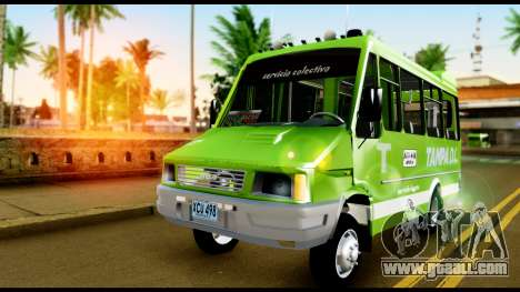 Iveco Minibus for GTA San Andreas right view