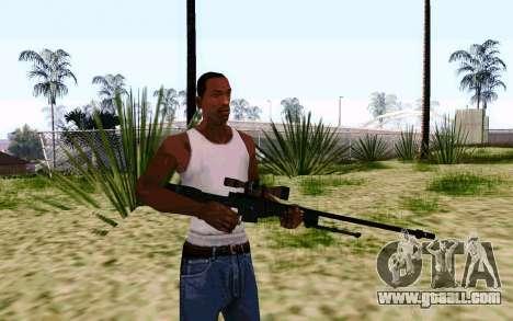 AWP L96А1 (Dodgers) for GTA San Andreas second screenshot