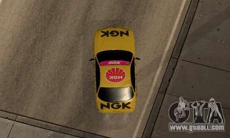 Nissan Silvia S14 NGK for GTA San Andreas back view