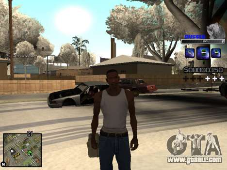 C-HUD Russia for GTA San Andreas fifth screenshot