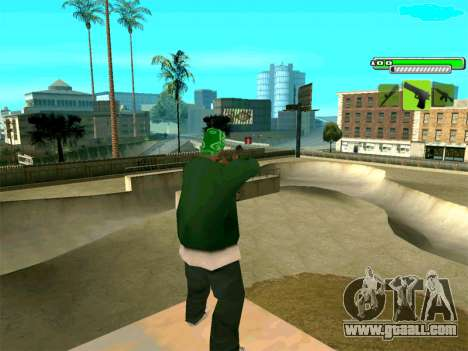 C-HUD Greny for GTA San Andreas third screenshot