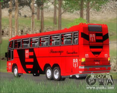 Marcopolo Paradiso G4 Flamengo Guarulhos for GTA San Andreas right view