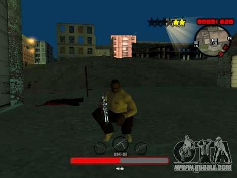 C-HUD by SantiManti for GTA San Andreas second screenshot