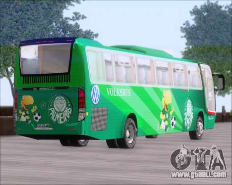 Busscar Vissta Buss LO Palmeiras for GTA San Andreas side view