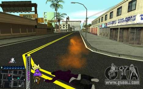 C-HUD Lite SWAG for GTA San Andreas sixth screenshot