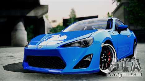 Scion FR-S for GTA San Andreas