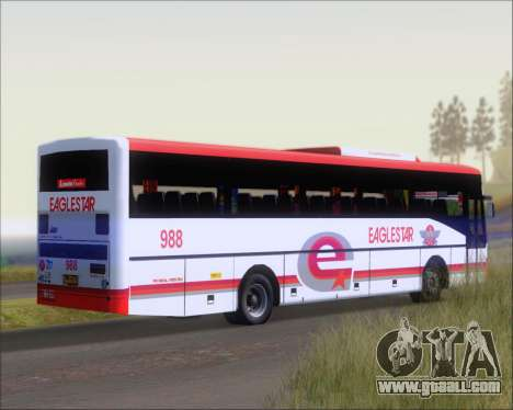 Nissan Diesel UD Santarosa EAGLESTAR 998 for GTA San Andreas back view