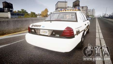 Ford Crown Victoria LCSO [ELS] Vision for GTA 4