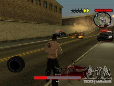 C-HUD by SantiManti for GTA San Andreas