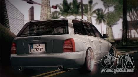 Audi S4 Avant for GTA San Andreas left view