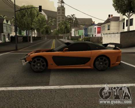 Mazda RX-7 VeilSide Drift for GTA San Andreas left view