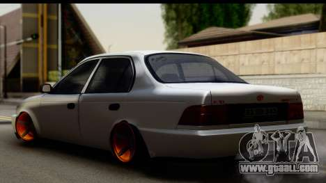 Toyota Corolla ENS Tuning for GTA San Andreas left view