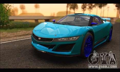 Dinka Jester Racecar (GTA V) (SA Mobile) for GTA San Andreas