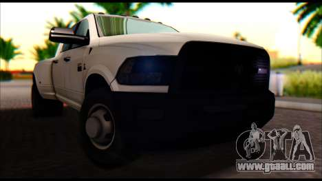 Dodge Ram 3500 Heavy Duty for GTA San Andreas right view