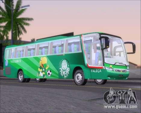 Busscar Vissta Buss LO Palmeiras for GTA San Andreas back left view