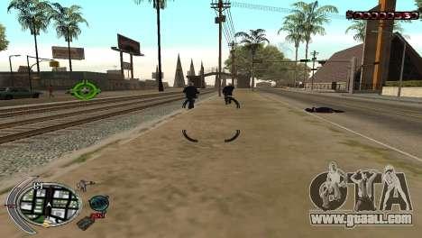 С-HUD Terror for GTA San Andreas