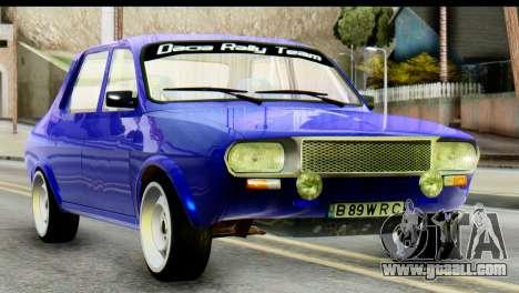 Dacia 1300 B 89 WRC for GTA San Andreas
