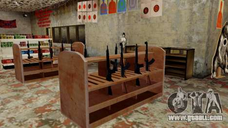 3D models of weapons in Ammu-nation for GTA San Andreas ninth screenshot