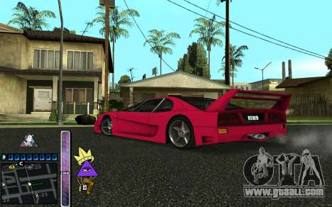 C-HUD Lite SWAG for GTA San Andreas fifth screenshot