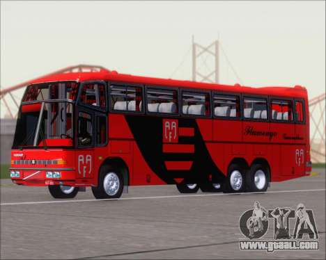 Marcopolo Paradiso G4 Flamengo Guarulhos for GTA San Andreas left view