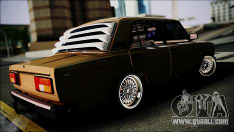 VAZ 2105 for GTA San Andreas back left view