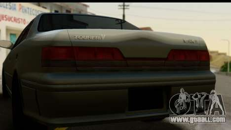 Toyota Mark 2 Stock for GTA San Andreas right view