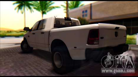 Dodge Ram 3500 Heavy Duty for GTA San Andreas left view