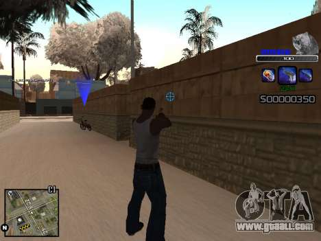 C-HUD Russia for GTA San Andreas second screenshot