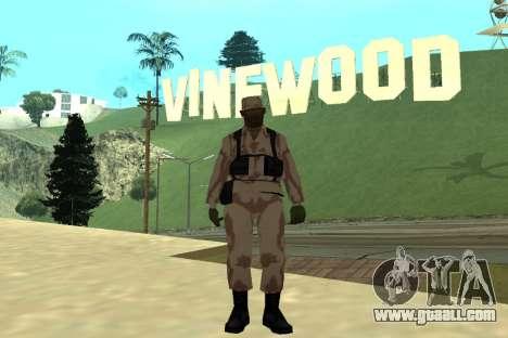 Black Police All for GTA San Andreas