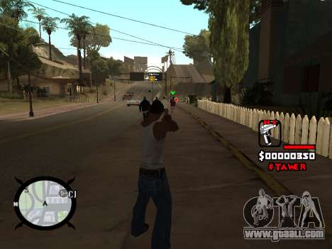 HUD by LokoMoko for GTA San Andreas second screenshot