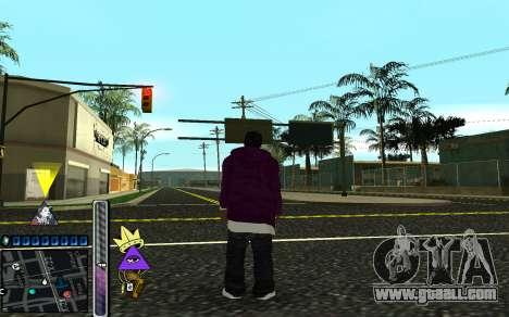 C-HUD Lite SWAG for GTA San Andreas
