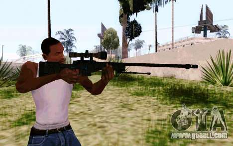 AWP L96А1 (Dodgers) for GTA San Andreas