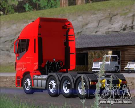 Iveco Stralis HiWay 8x4 for GTA San Andreas
