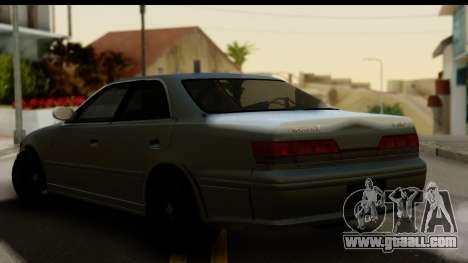 Toyota Mark 2 Stock for GTA San Andreas left view