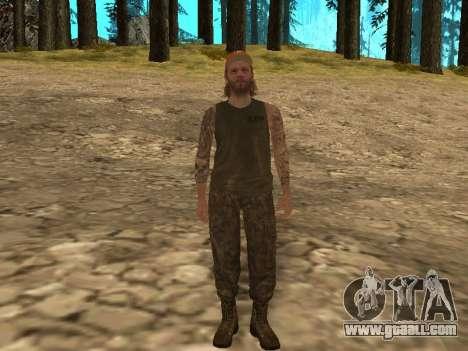 Cletus Ewing de GTA V for GTA San Andreas