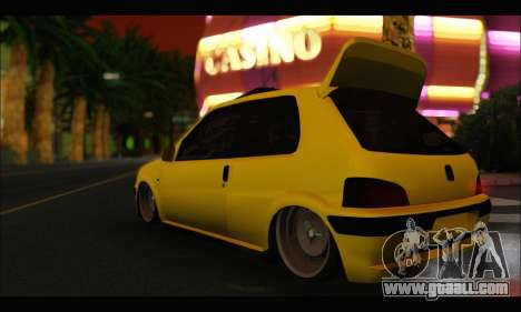 Peugeot 106 GTI for GTA San Andreas left view