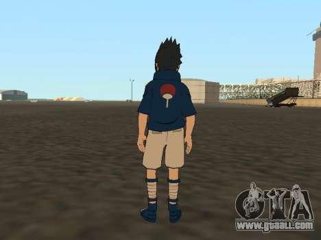Sasuke Uchiha for GTA San Andreas third screenshot