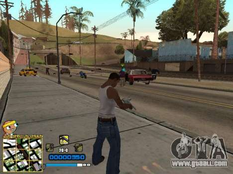 C-HUD Vagos for GTA San Andreas second screenshot