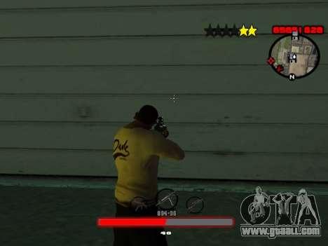 C-HUD by SantiManti for GTA San Andreas third screenshot
