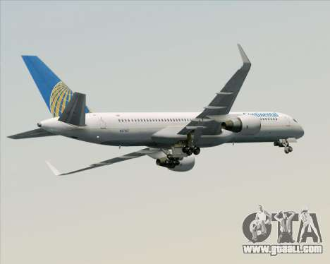 Boeing 757-200 Continental Airlines for GTA San Andreas engine