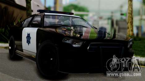 GTA 5 Buffalo S Taxi for GTA San Andreas